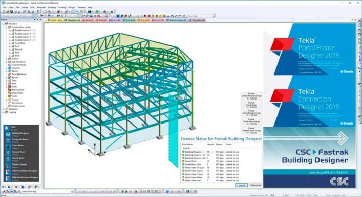 Tekla Portal Frame & Connection Designer 2021