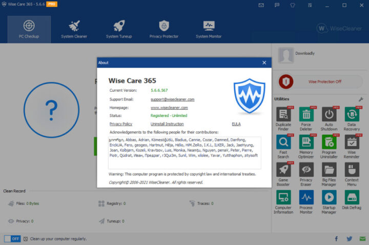 Wise Care 365 Pro 5.6.6.567